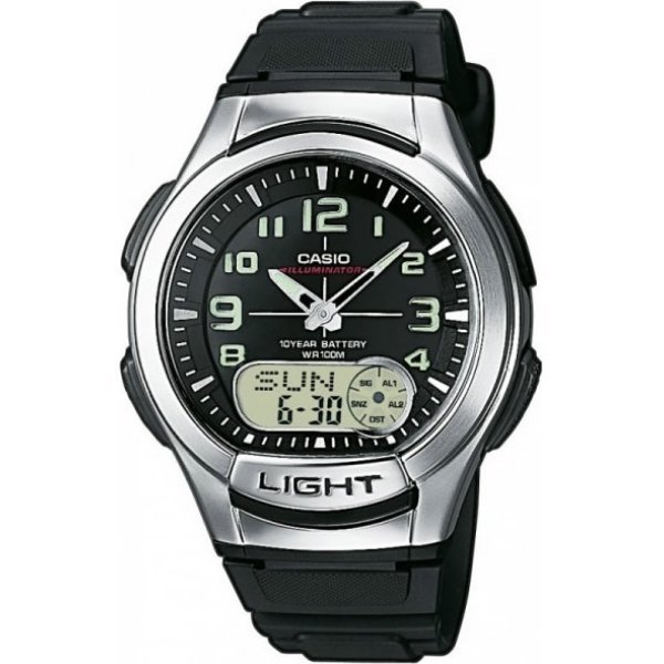 Наручные часы Casio Combinaton Watches AQ-180W-1B наручные часы casio combinaton watches aeq 100w 1b