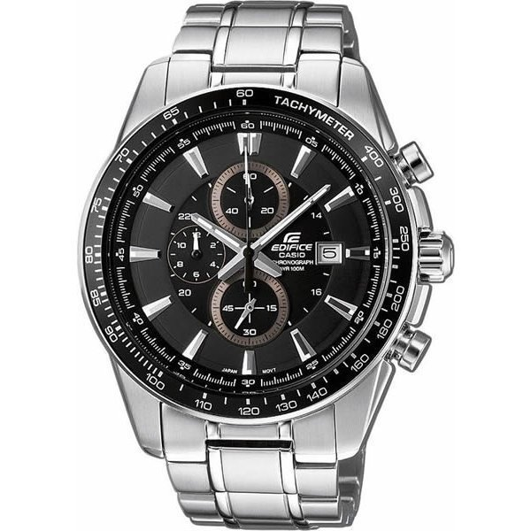 Наручные часы Casio Edifice EF-547D-1A1 dom men watch top luxury men quartz analog clock leather steel strap watches hours complete calendar relogios masculino m 11 page 3