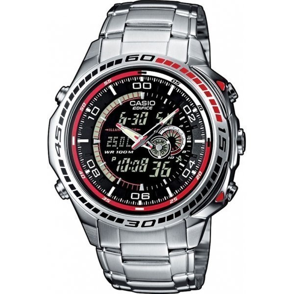 Наручные часы Casio Edifice EFA-121D-1A casio efa 133d 8a edifice