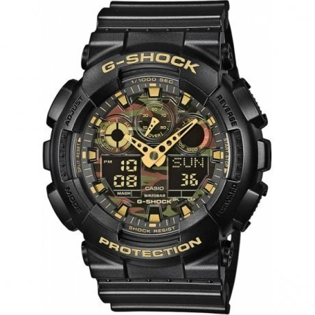 Наручные часы Casio G-Shock GA-100CF-1A9 casio g shock ga 100cf 1a9