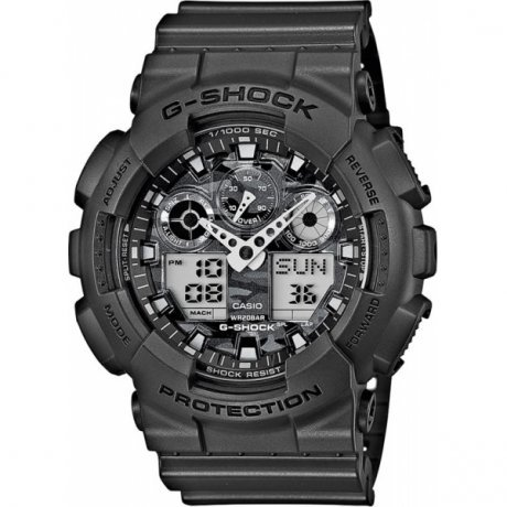Наручные часы Casio G-Shock GA-100CF-8A casio g shock ga 100cf 1a9