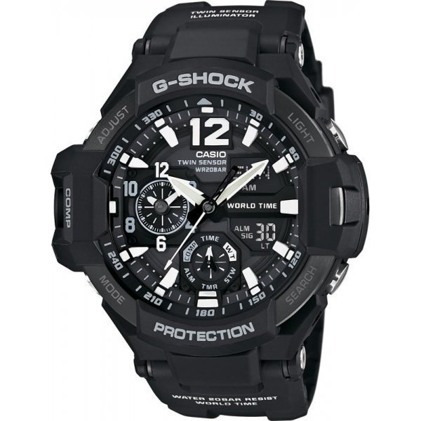 Наручные часы Casio G-Shock GA-1100-1A casio ga 110rg 1a