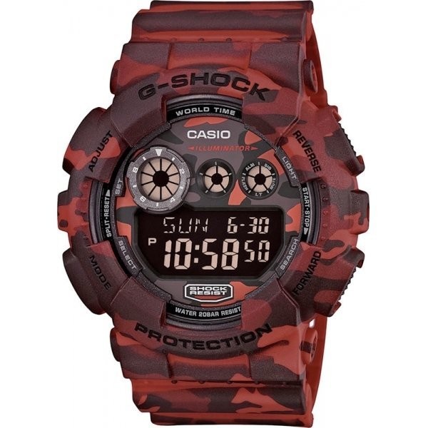 Наручные часы Casio G-Shock GD-120CM-4E casio g shock s series gmd s6900f 4e