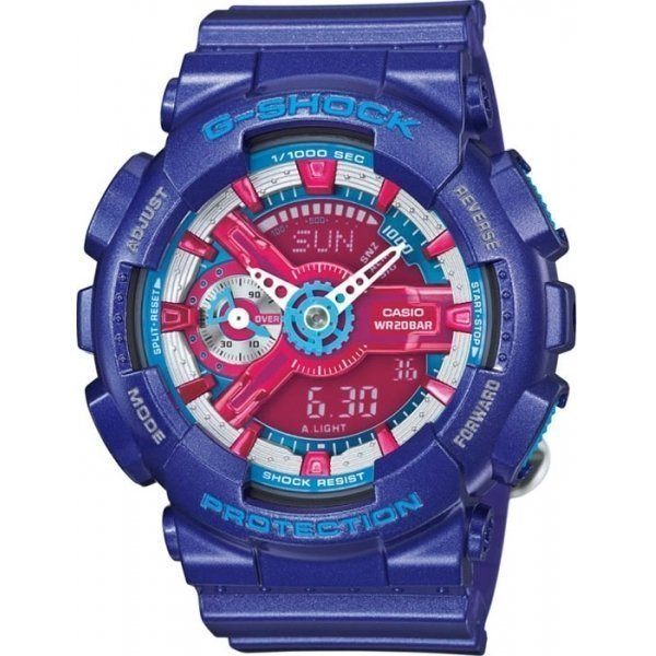 Наручные часы Casio G-Shock GMA-S110HC-2A casio gma s110f 2a casio