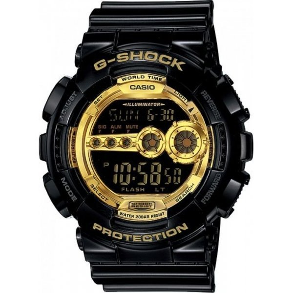 Наручные часы Casio GD-100GB-1E casio gd 100gb 1e
