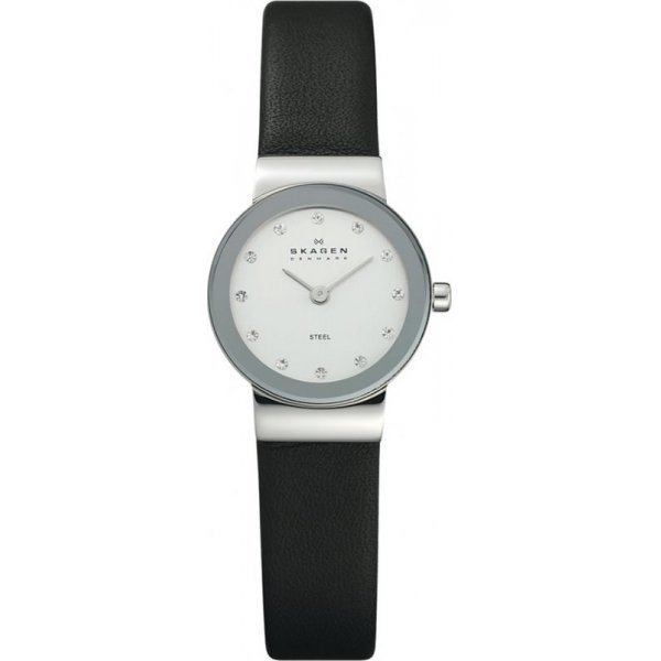 Наручные часы Skagen Leather 358XSSLBC часы nixon genesis leather white saddle