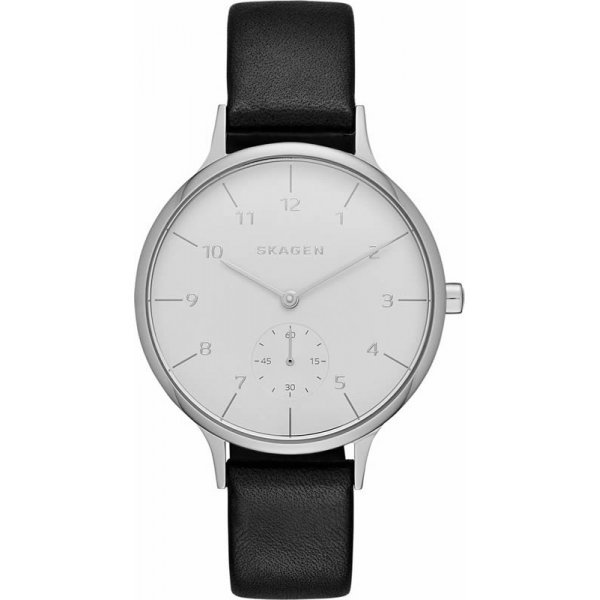 Наручные часы Skagen Leather SKW2415 часы nixon genesis leather white saddle