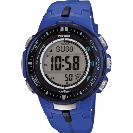 Наручные часы Casio Pro-Trek PRW-3000-2B casio watch solar outdoor sports climbing table waterproof male watch prw 3000 1a prw 3000 1d prw 3000 2b prw 3000 4b