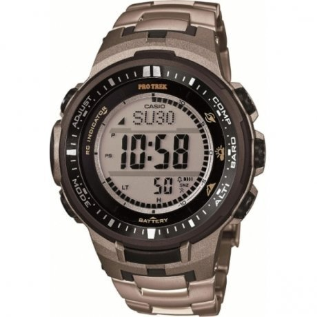 Наручные часы Casio Pro-Trek PRW-3000T-7E casio watch solar outdoor sports climbing table waterproof male watch prw 3000 1a prw 3000 1d prw 3000 2b prw 3000 4b