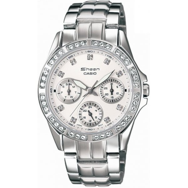 Наручные часы Casio Sheen SHN-3013D-7A casio watch casual business waterproof quartz ladies watch shn 4019dp 4a shn 4019dp 7a shn 4019lp 7a