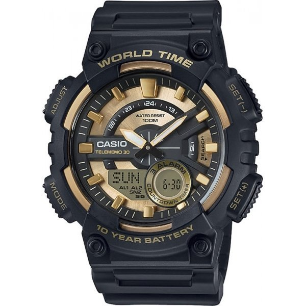 Наручные часы Casio AEQ-110BW-9A 50cm 4p double headed dupont line male to male 4pin revolution color connecting line