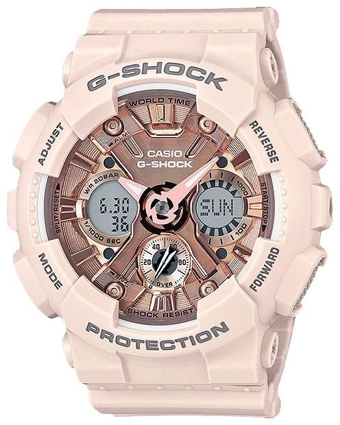 Наручные часы Casio GMA-S120MF-4A casio gma s120mf 2a