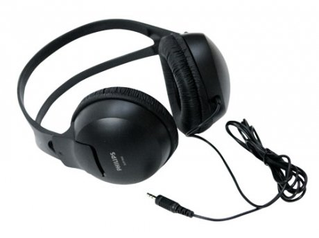Наушники Philips SHP1900 Black philips shp1900 10 наушники