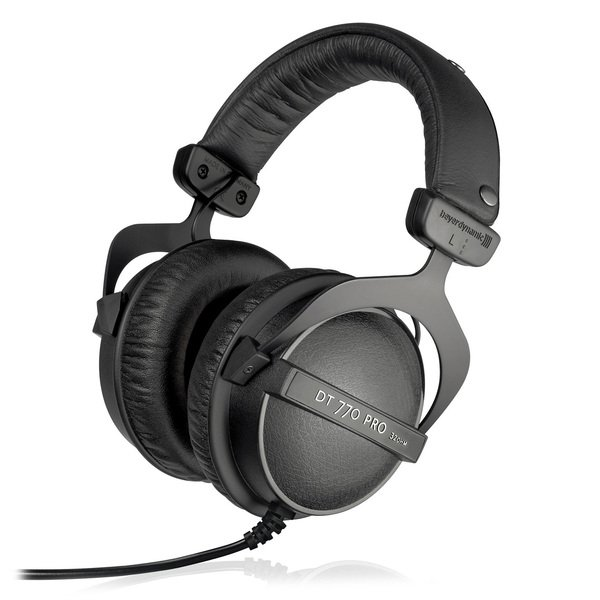 Наушники Beyerdynamic DT 770 PRO 32 Ohm beyerdynamic dt 770 pro 32 ohm professional studio headphones close back headphone for mobile use new in official retail box