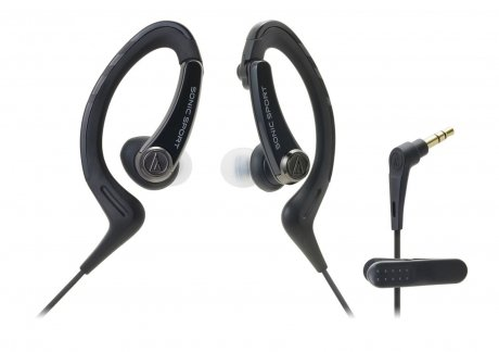 Наушники Audio-Technica ATH-SPORT1 BK Black audio technica ath ax5is black