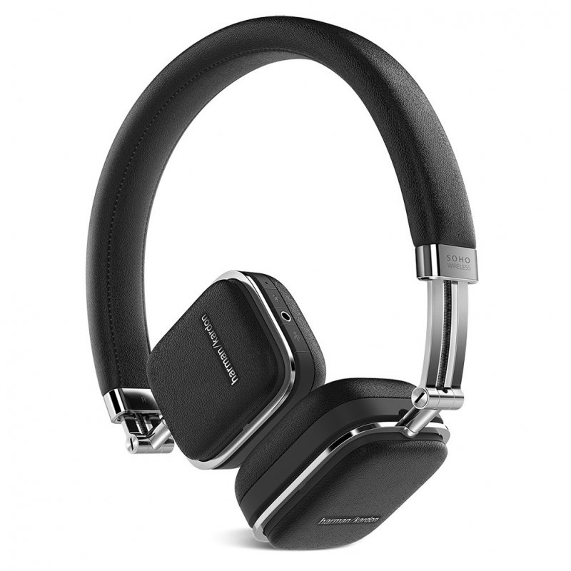 Наушники Harman Kardon Soho Wireless Black наушники harman kardon sohobt