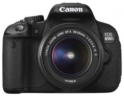 Зеркальный фотоаппарат Canon EOS 650D Kit 18-55 IS 55-250 IS