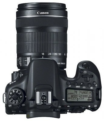 Зеркальный фотоаппарат Canon EOS 70D Kit 18-55 IS II