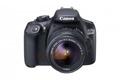 Зеркальный фотоаппарат Canon EOS 1300D Kit 18-55 IS II