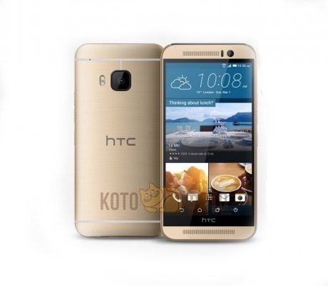 Смартфон HTC One M9 Gold on gold