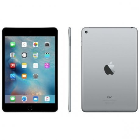 Планшет Apple iPad mini 4 Wi-Fi Cellular 128Gb Space Grey (MK762RU/A) apple ipad mini 4 wi fi cellular 16gb space gray
