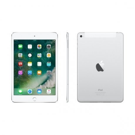 Планшет Apple iPad mini 4 Wi-Fi Cellular 32Gb Silver (MNWF2RU/A)