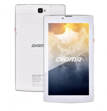 Планшет Digma Plane 7004 3G (PS7032MG/PS7032PG) White