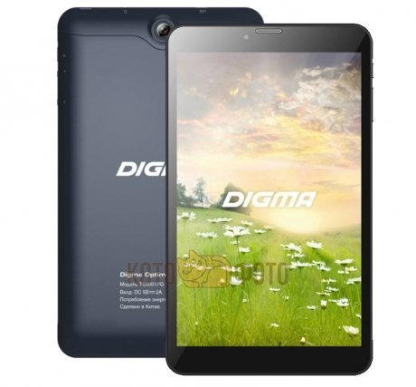 Планшет Digma Optima 8002 3G Black
