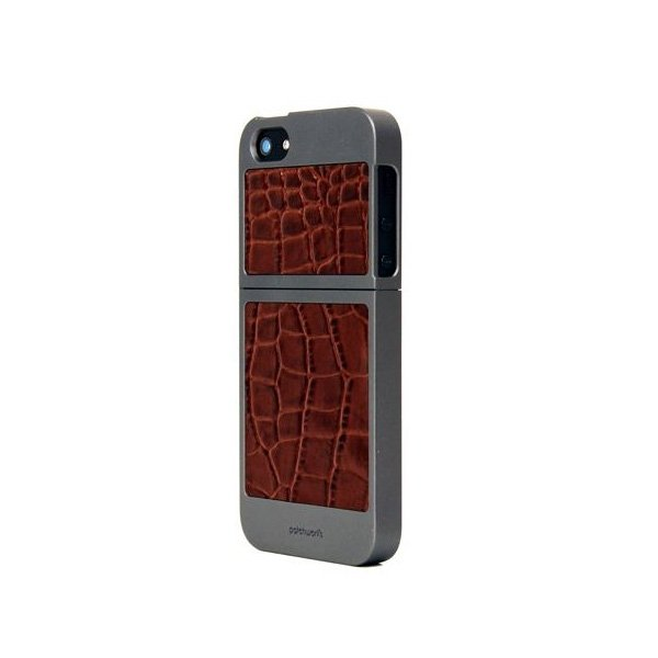 Patchworks Titanium Brwn Cro 7426+защитная пленка iPhone5 kaffe fassetts brilliant little patchworks