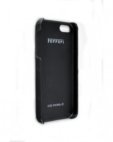 Чехол Ferrari California Collection Hard Case Leather iPhone 5 Full Black FECFIP5FB