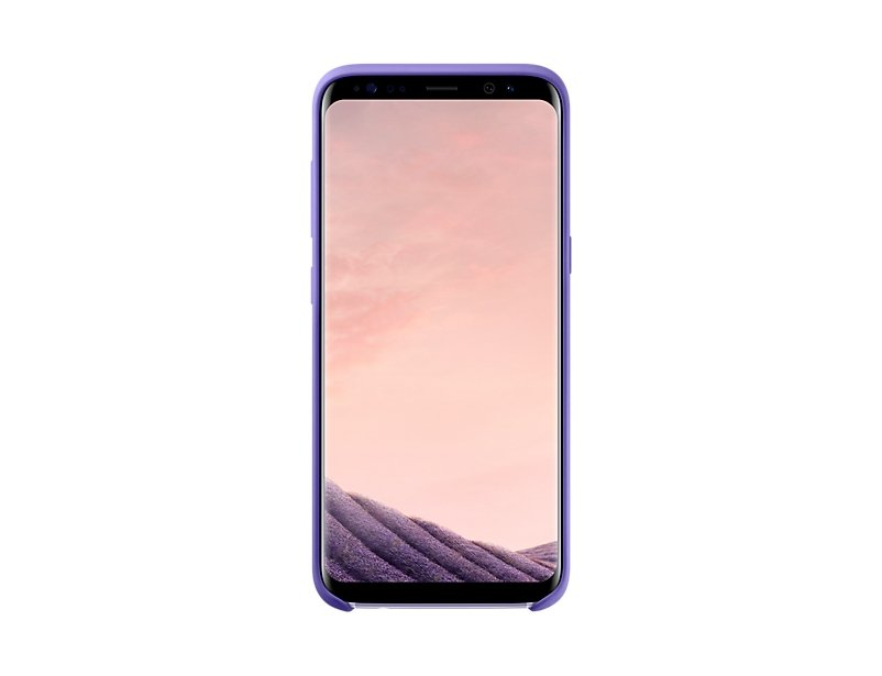 Чехол Samsung Silicone Cover для Galaxy S8 (G950F) EF-PG950TVEGRU Violet top quality original new for samsung galaxy s8 g950f small front facing camera module flex cable replacement parts free shipping