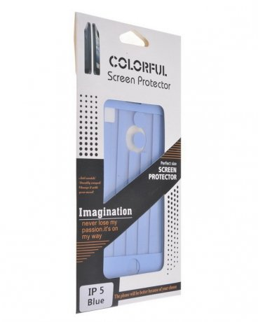 COLORFUL Screen Protector for iPhone 5