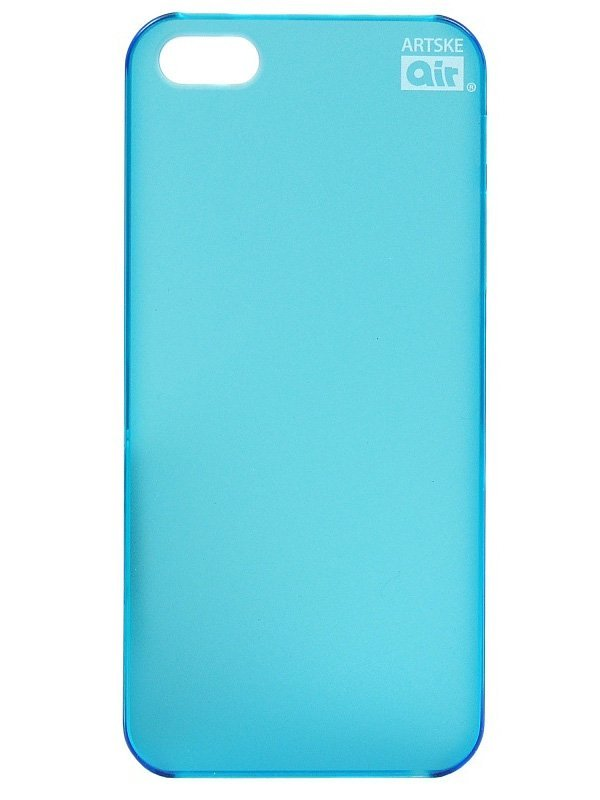 Чехол Artske iPhone 5 Air case Light blue zomgo stylish protective aluminum alloy bumper case for iphone 5 5s deep pink