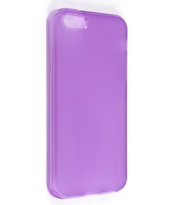 Momax Clear Twist Hello for iPhone 5C Purple