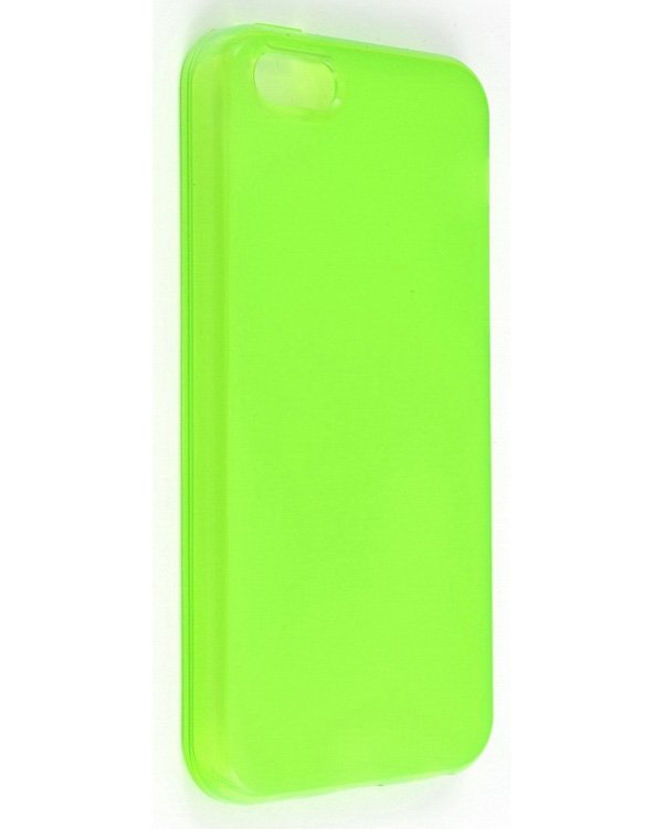 Momax Clear Twist Hello for iPhone 5C Green