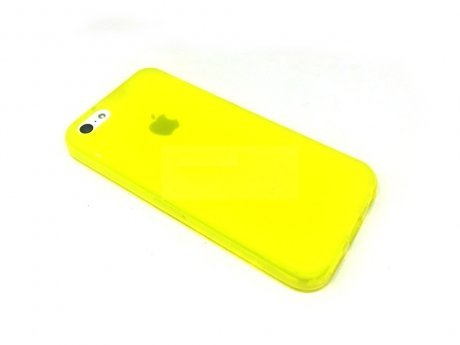 Momax Clear Twist Hello for iPhone 5C Yellow