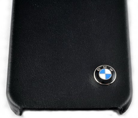 BMW Classic Leather Hard Case for Apple iPhone 5 (Black)