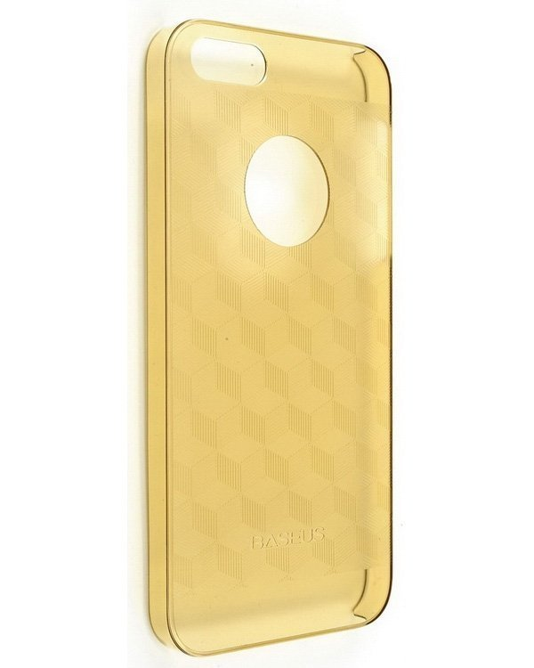 Baseus Ultra Thin Case for iPhone 5 (Champagne) baseus organdy case for iphone 5 red