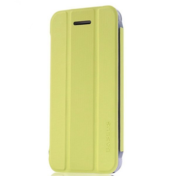 Baseus Folio Stand Case for iPhone 5C (Green)