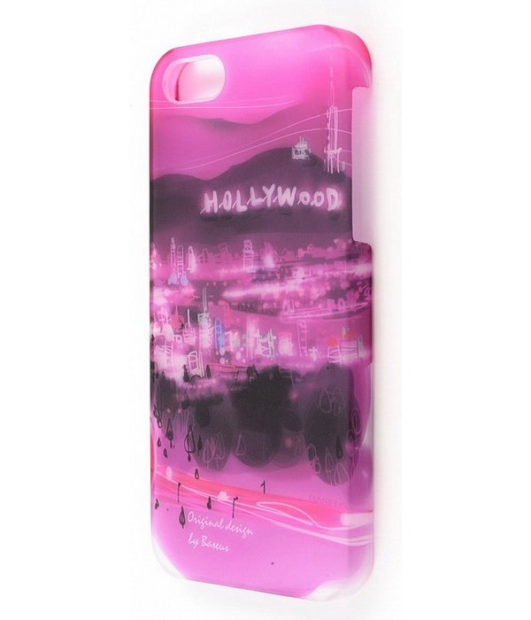 Baseus Utopia Case for iPhone 5 Hollywood baseus organdy case for iphone 5 red
