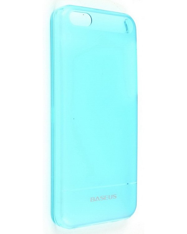Baseus Ultra Thin Case 0.6mm for iPhone 5C (Blue) baseus organdy case for iphone 5 red