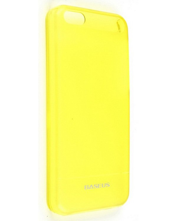 Baseus Ultra Thin Case 0.6mm for iPhone 5C (Yellow) baseus little devil case for iphone 7 red