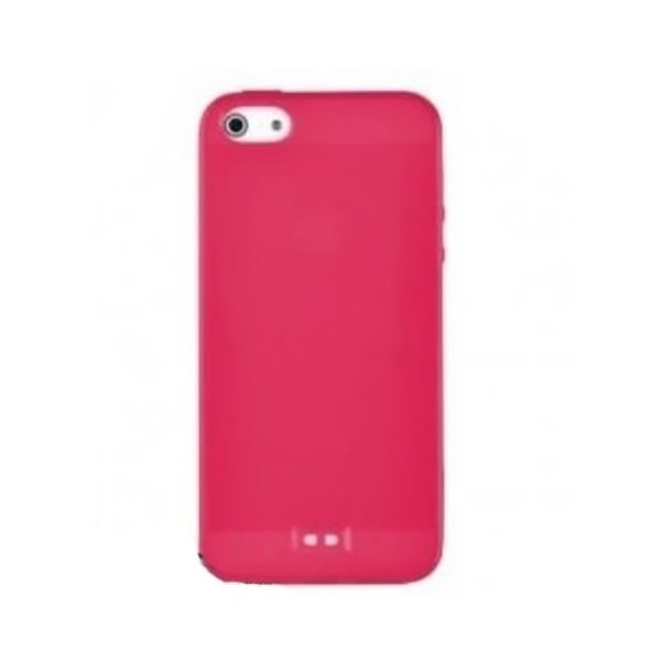 Baseus Colorful Case for iPhone 5 (Red) baseus guards case tpu tpe cover for iphone 7 red