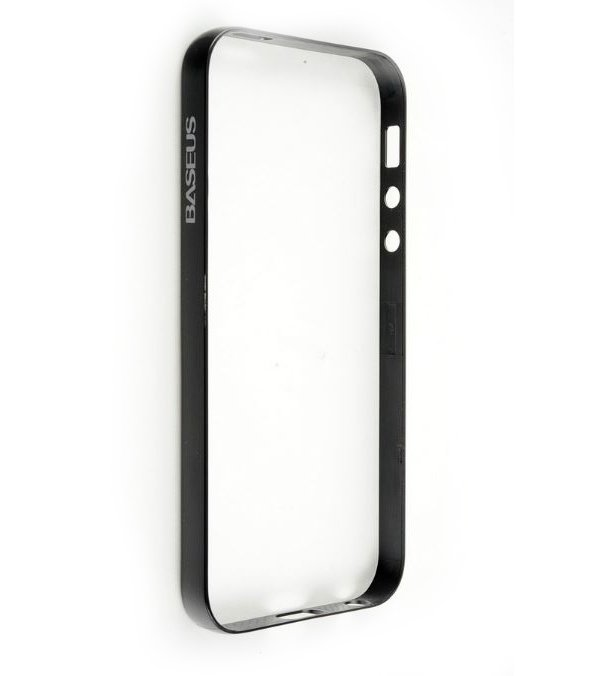 Baseus Bumper PC Frame for iPhone 5 (Black) baseus organdy case for iphone 5 red
