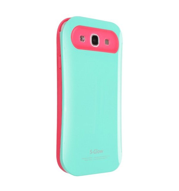 Чехол AEONAZ I-Glow для iPhone 5/5s Mint-Pink (i503T) cute rabbit style protective silicone back case for iphone 5 5s pink