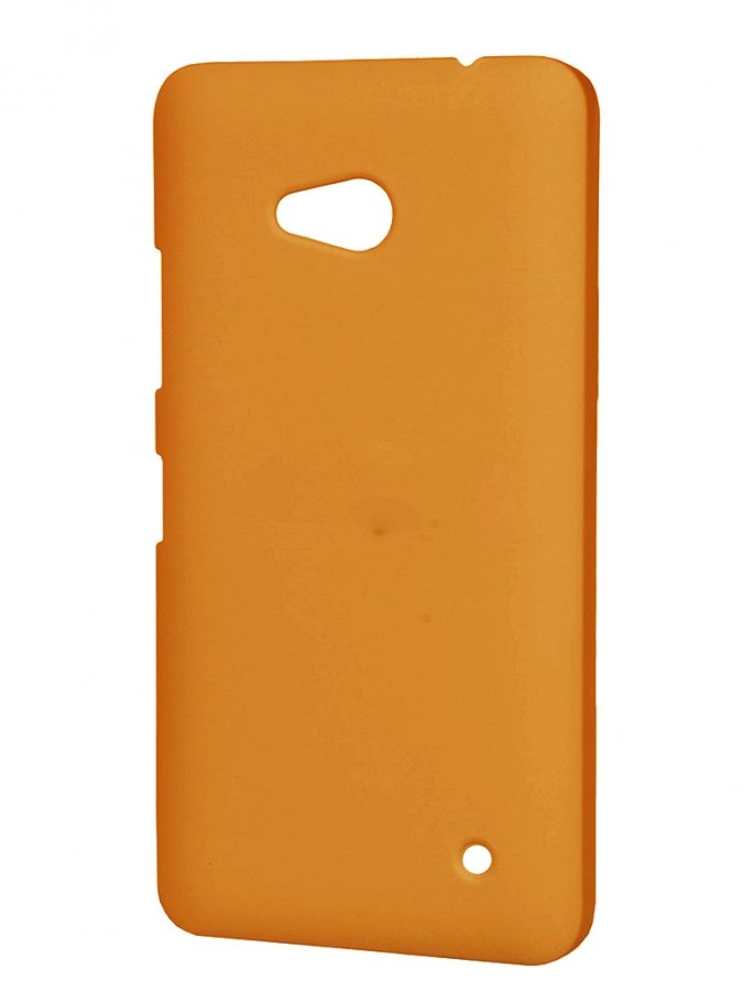 Чехол-накладка Pulsar Clipcase Soft-Touch для Microsoft Lumia 640 (оранжевая) original for nokia lumia 640 lcd display with touch screen digitizer assembly with frame replacement parts free shipping
