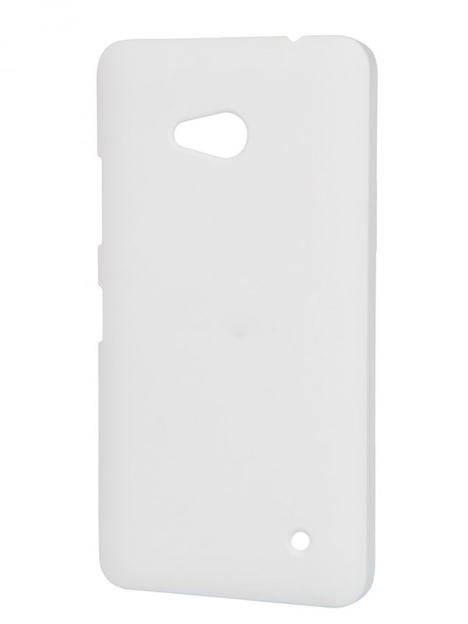 Чехол-накладка Pulsar Clipcase Soft-Touch для Microsoft Lumia 640 (белая) original for nokia lumia 640 lcd display with touch screen digitizer assembly with frame replacement parts free shipping