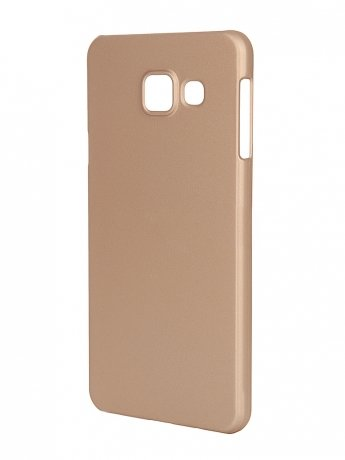 Чехол Pulsar Clipcase PC Soft-Touch для Samsung Galaxy A3 (A310) 2016 Gold