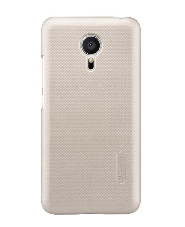 Чехол Nillkin серия Frosted Shield BackCover для Meizu M3s (золотой)