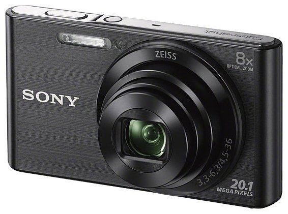 Цифровой фотоаппарат Sony Cyber-shot DSC-W830 Black фотоаппарат sony dsc w830 black